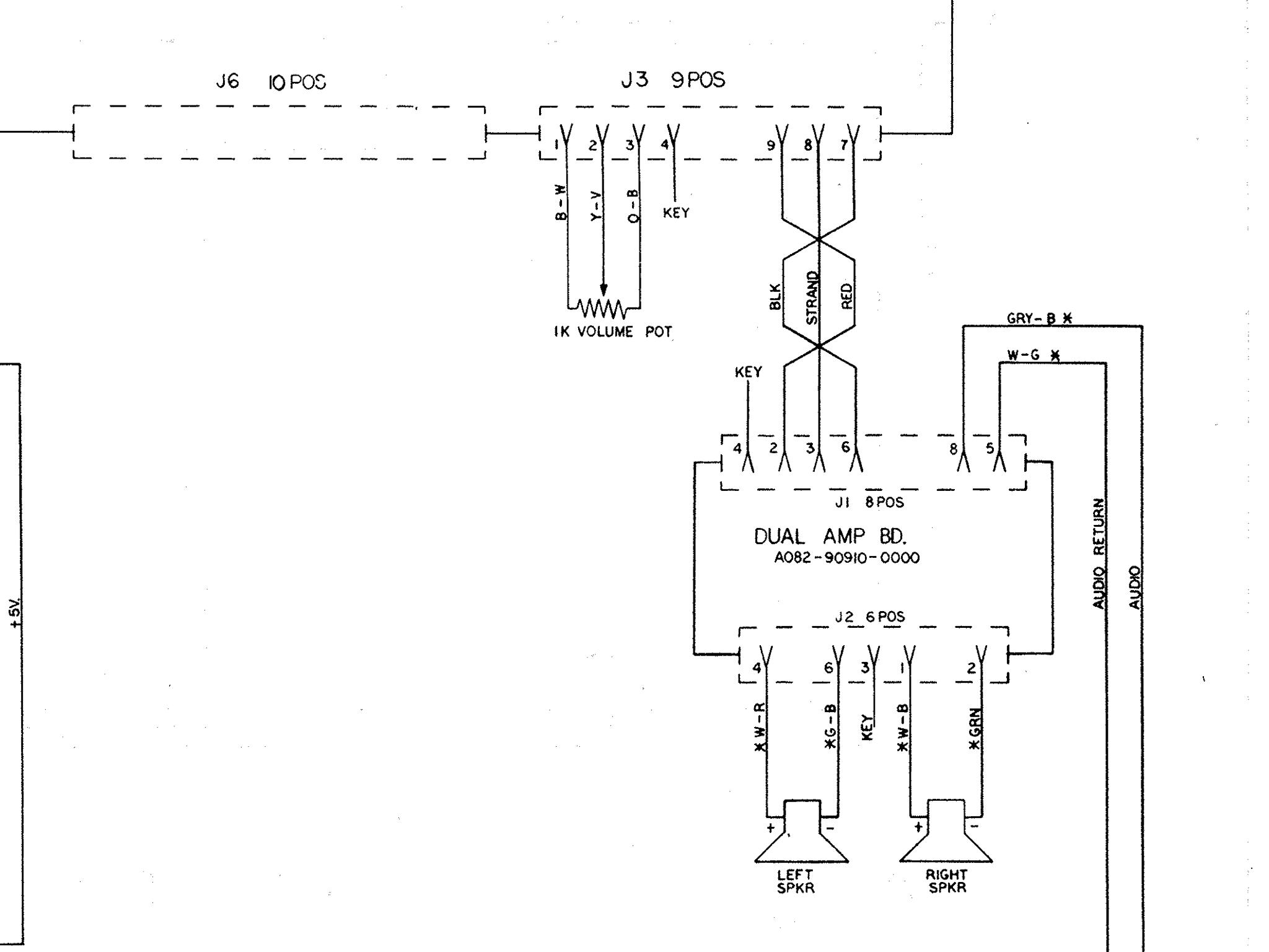 Tron Testing The Audio Amplifier Arcade Game Wiring Diagram 2014 08 10 155335